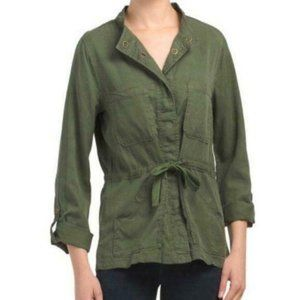 NEW Sanctuary army green tie jacket with pockets
